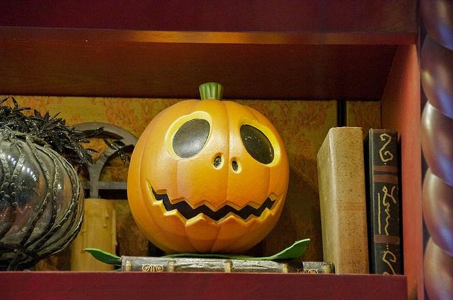 bookortreat literary pumpkins! Jack skellington