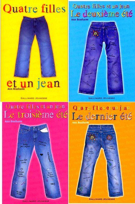 """""""Quatre filles et un jean"""", le livre de mon enfance lu et relu maintes fois."""