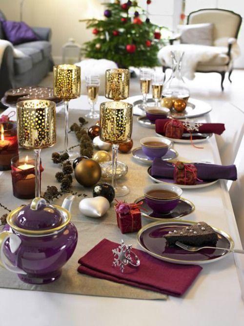 De mooiste gedekte tafels met kerst