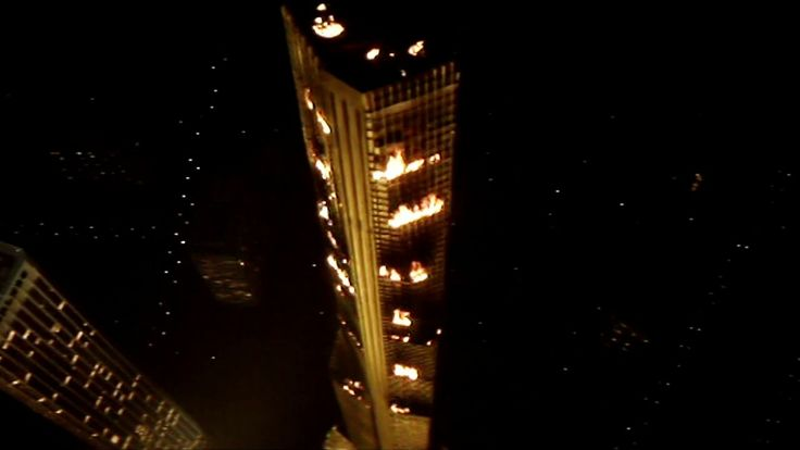 """""""I'll be back with the whole fire department."""" -The Towering Inferno (1974)"""