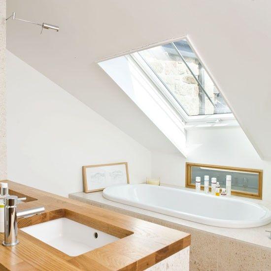 Small Velux bathroom | Small bathroom ideas | housetohome.co.uk