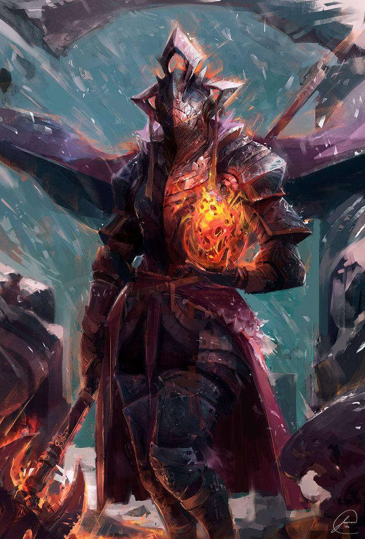 Caballero de fuego por JasonTN