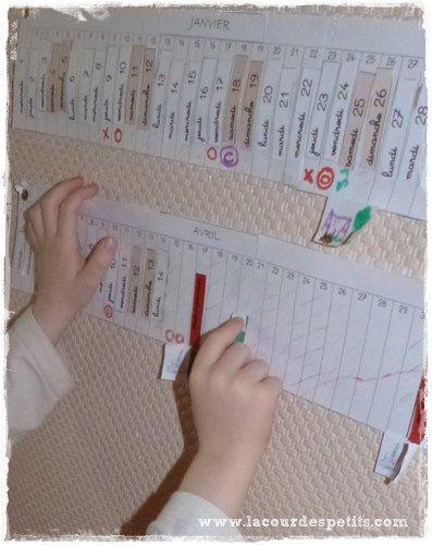 Repérer temps Montessori