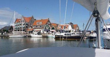 Sailing on the IJsselmeer in the Netherlands. Photo via Flickr:Marc van der Chijs