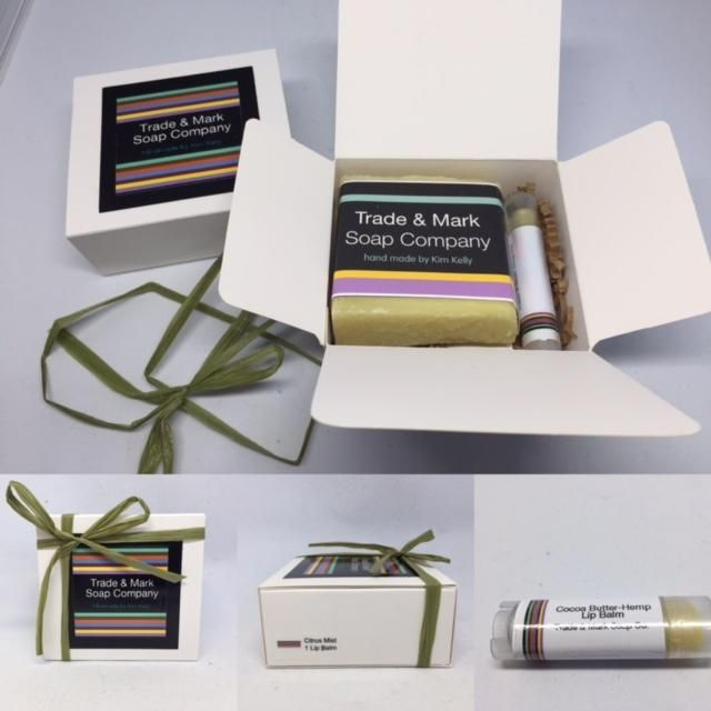 Soap & Lip Balm Gift Box - 6 Soaps to Choose From www.Thea-Bel.ca