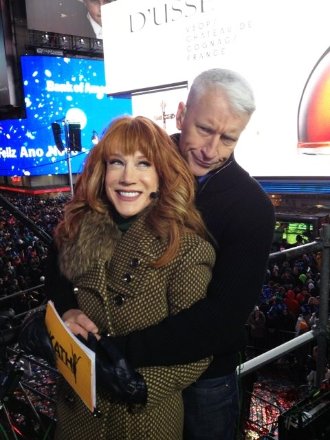 2 for 1. Two of my favs! Anderson Cooper & Kathy Griffin
