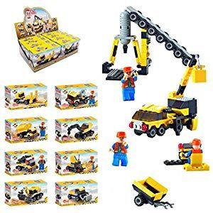 Ultrey Fahrzeug Spielzeug Blocks Set DIY Puzzle baustein montieren Modell Kinder…