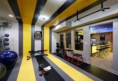 best home gym ideas basement small garage outdoor