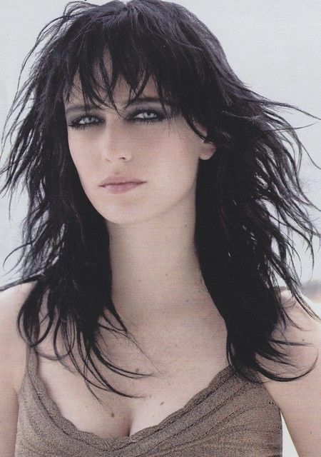 Eva Green is beautiful, even though half the time she's wearing more eye makeup than Alice Cooper.