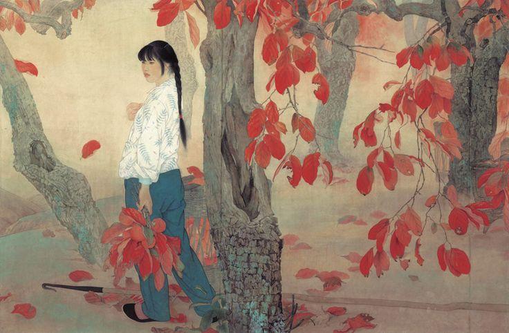 Wonderful chinese artist He Jiaying. www.hejiaying.artron.net