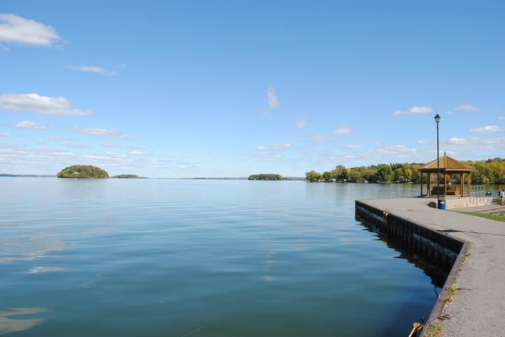 Rice Lake in Gore's Landing, Ontario
