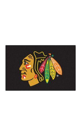 Fanmats  Nhl Chicago Blackhawks Starter Mat - Black - One Size