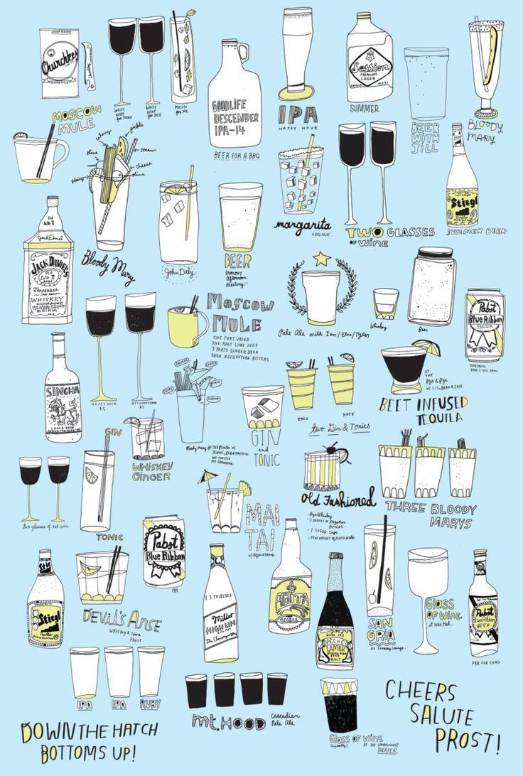 'Drinks!' by Kate Bingaman-Burt