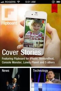 Flipboard Update Includes Native iPhone Version » 148Apps » iPhone, iPad, and iPod touch App Reviews and News