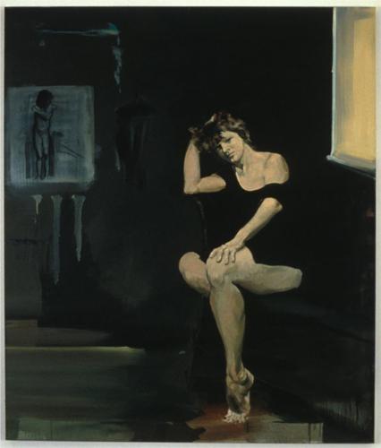 Portrait of an Artist as a Woman - Eric Fischl 1989