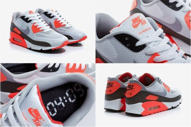 Nike Air Max 90 Hyperfuse    Infrared    turned up and was actually    Nike Air Max 90 Hyperfuse Infrared Crooked Tongues