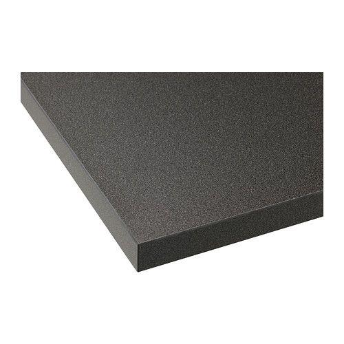 IKEA - EKBACKEN, Plan de travail, 186x2.8 cm, , Garantie 25 ans gratuite. Détails des conditions disponibles en magasin ou sur internet.Les plans de travail stratifiés sont très résistants et faciles à entretenir. Ils gardent leur aspect neuf pendant de nombreuses années.Le plan de travail le plus fin avec baguette de chant droite est idéal dans une cuisine de style moderne.Vous pouvez couper le plan de travail à la longueur souhaitée et masquer les côtés découpés à l'aide des baguettes de…