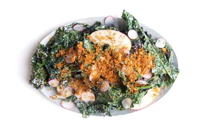 Grilled salad. It's a thing. This one gets a double dose of smokiness, both from the charred greens and the smoked paprika.