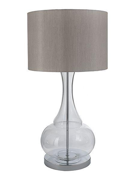 Aurelia glass base table lamp