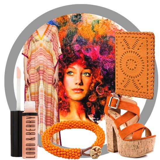 Vintage Lookbook: 70s orange kaftan: 70S Fashion, Vintage Fashion, Vintage Wardrobe, 70S Art Tattoo, Fashion Closet, 70S Arttattoo, 70S Orange, Vintage Clothing, Vintage 70S