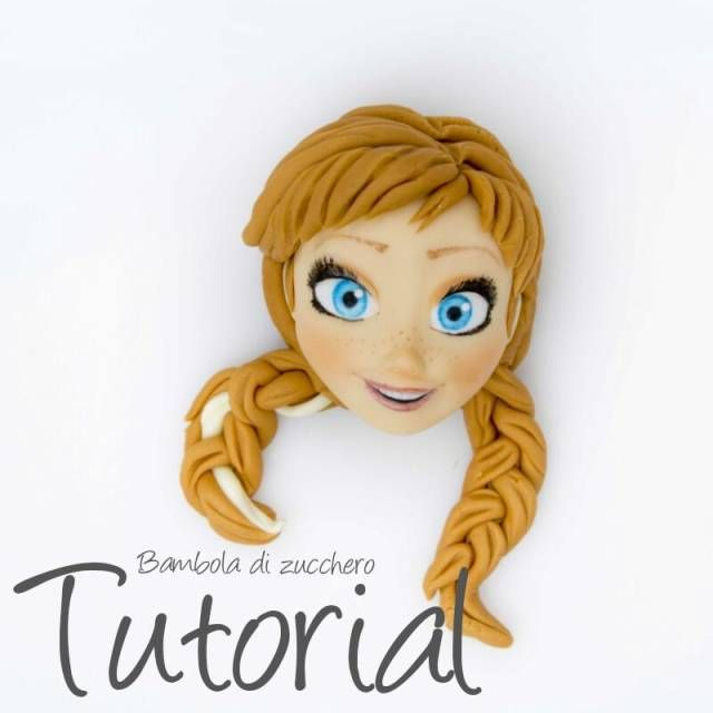 Anna Frozen by Bambola di zucchero - CakesDecor
