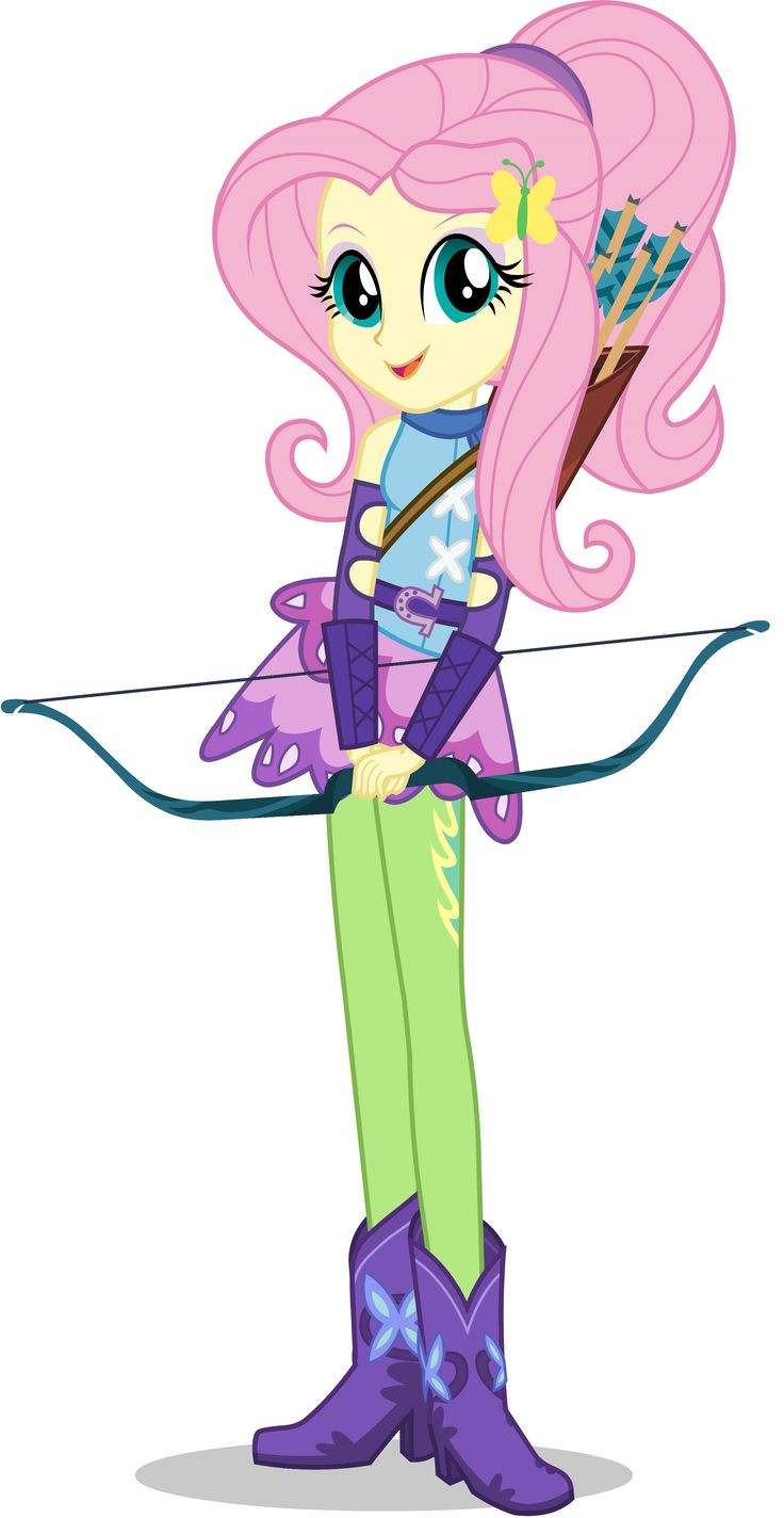 Fluttershy preps for her archery event in the new movie My Little Pony Equestria Girls: Friendship Games - out on Bluray, DVD and digital on October 13, 2015!