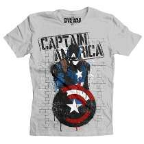 Playera Rogers Stencil Mascara De Latex Banksy Capitan Marve