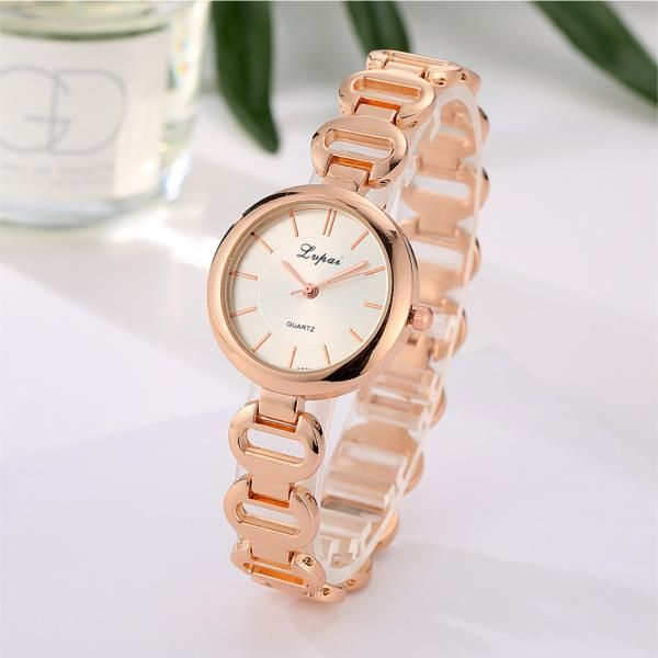 LVPAI P125 Fashion Women Quartz Wristwatch Luxury Ladies Dress Bracelet Elegant Party Watch at Banggood