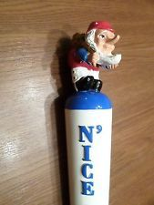 "Excellent Nice Chouffe Troll Elf Figural 11"" Beer Keg Tap Handle Marker Rare"