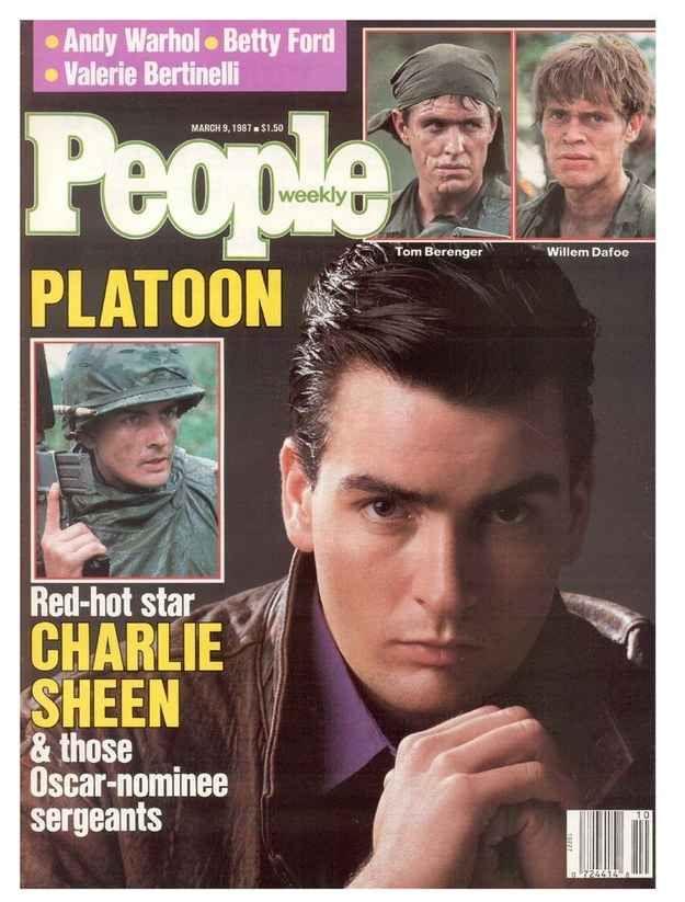 Charlie Sheen & Platoon.