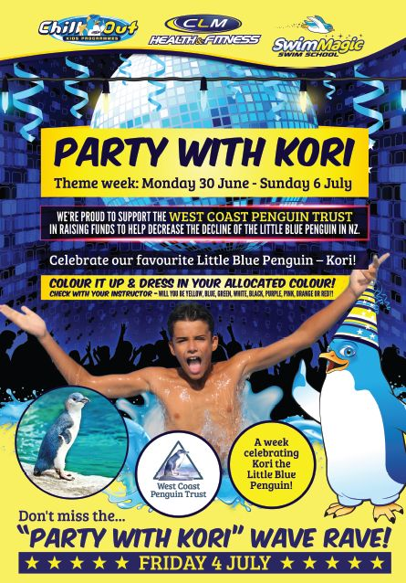 Party with Kori and help the Litttle Blue Penguin
