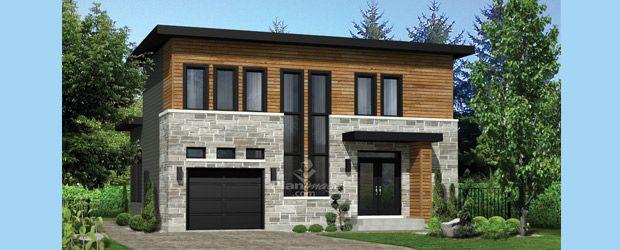 - Cette magnifique maison à étage affiche un style très moderne ...