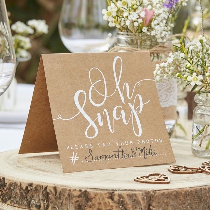 Create your very own wedding hashtag with our Instagram Signs You will have so much fun coming up with your personalised hashtag Guests will love