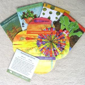 Fab.com | Gardening Seeds and Prints: Heirloom Gardening, Bowl Seed, Gardening Seeds, Salad Bowls, Artwork Celebrating