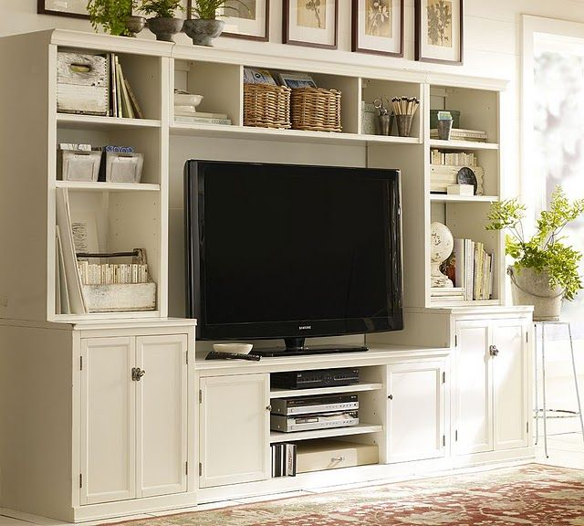 17 Best Images About White Entertainment Centers On