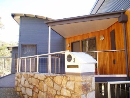 brick home with colorbond extension - Google Search