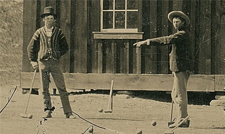 Henry McCarty, known in Wild West lore as Billy the Kid, lived a brief and violent life, stealing and killing before his death in a gunfight aged 21. He lived with a gun in his hand – and sometimes, it seems, a croquet mallet.  Read the extraordinary story of how only the second photo ever authenticated as showing Billy the Kid came to light: http://gu.com/p/4d927/fb