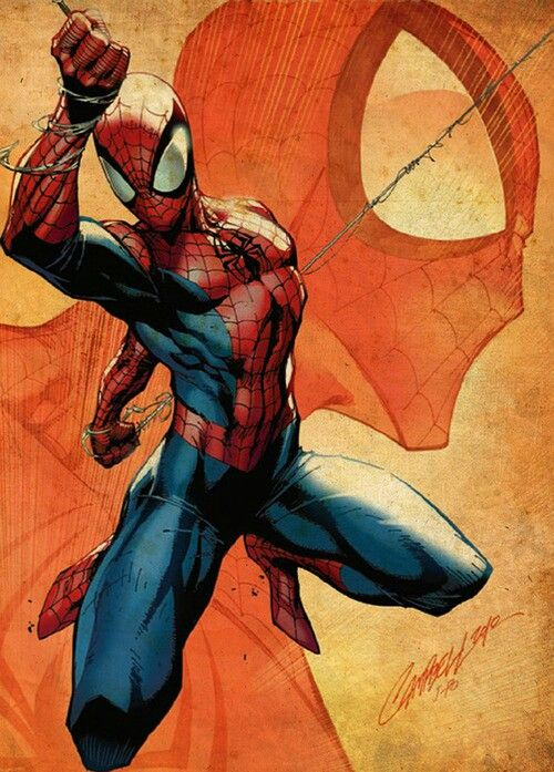 Spider-man by J Scott Campbell More Comic Art