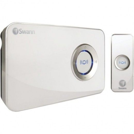 Play mp3 songs and sounds instead of just chimes when someone rings your doorbell. I totally want a doorbell that plays Ring My Bell or Who Let the Dogs Out! Perfect for the holidays, have it play Christmas music!