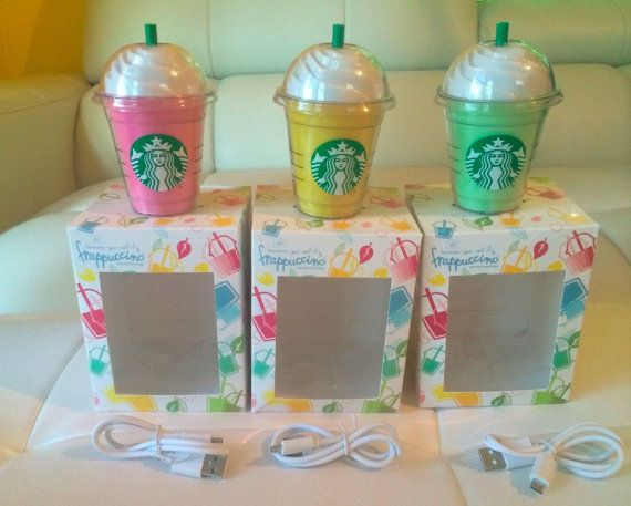 Star Bucks Inspired Portable Charger by chargestyle on Etsy