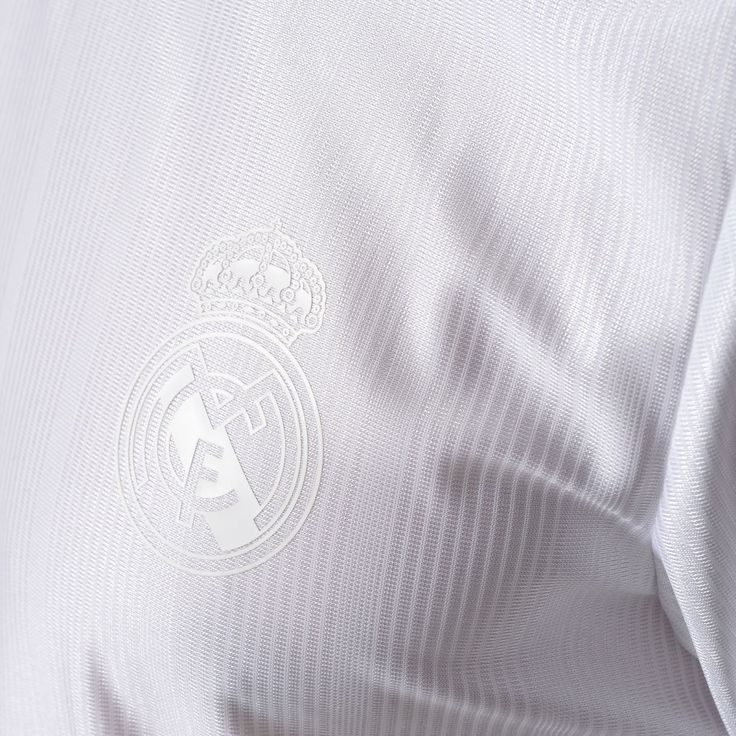 Adidas Originals Real Madrid 2017-18 kit.