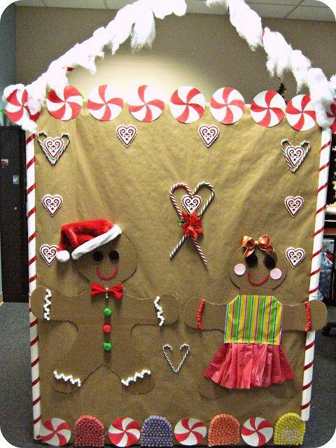 Christmas Door Decorations For Work | Best Images ...