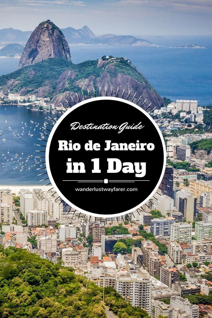 Only 1 day in Rio de Janeiro, Brazil? Visit all the must-see sites with this packed guide.: