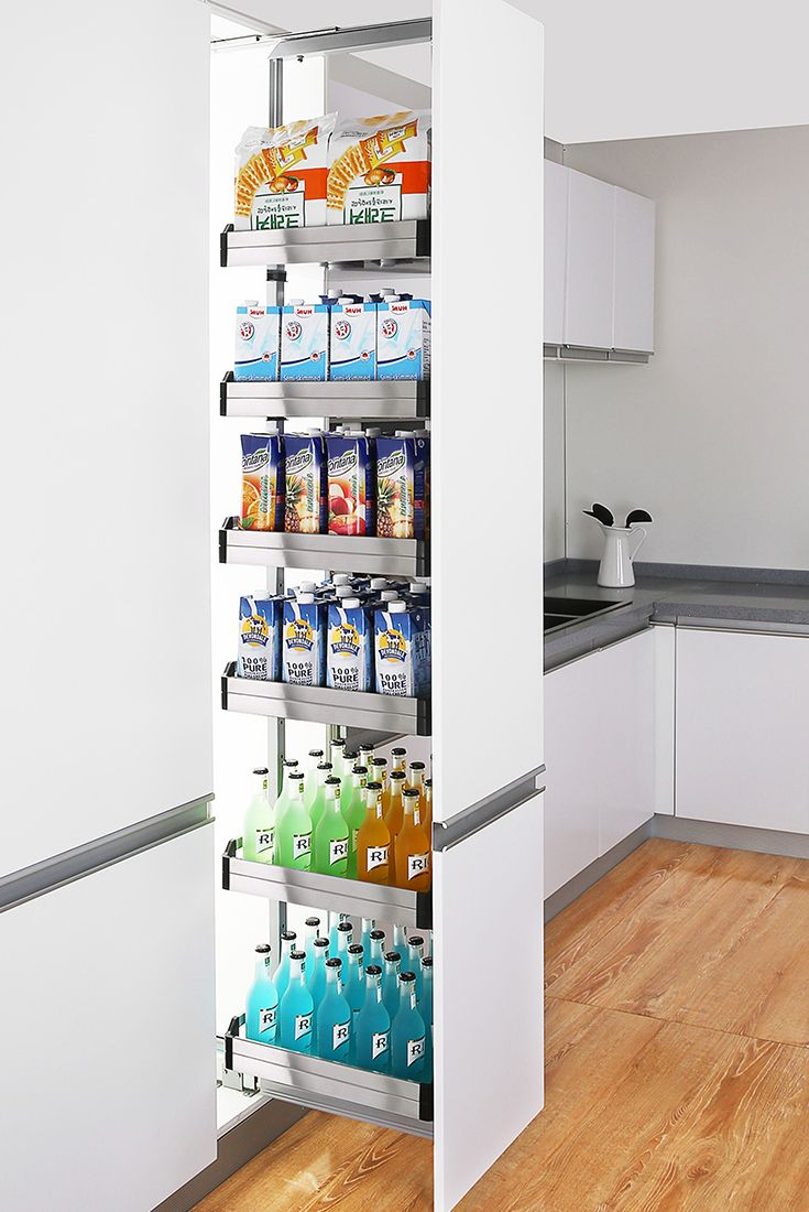 Pull Out Pantry Units In 2020 Pantry Organisation Pantry Baskets Kitchen Hacks Organization