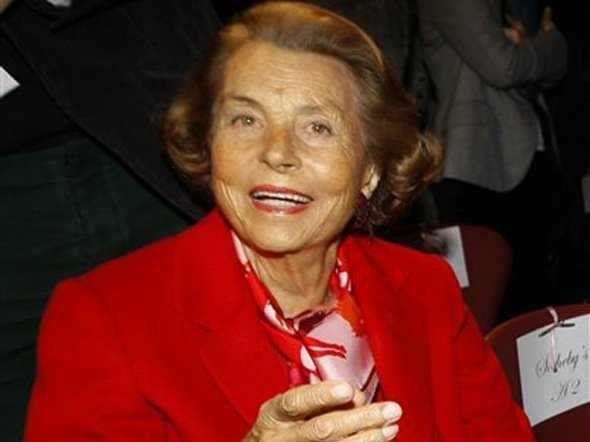 #4 Liliane Bettencourt and family, 34.5 Billion