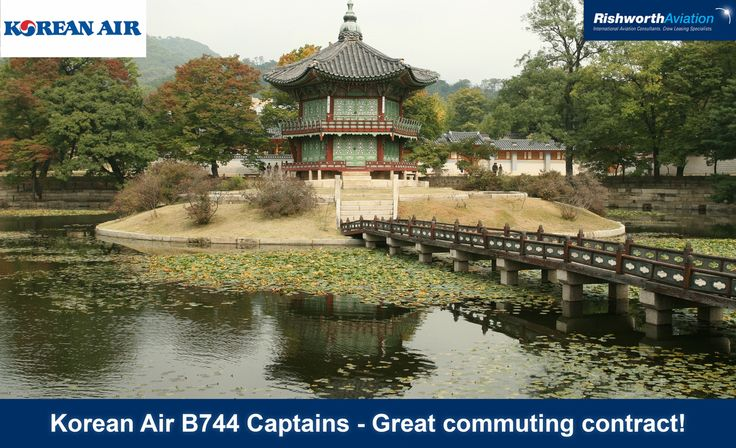 B747 Captains, don't miss out! Looking for a great commuting contract? Have you considered Korean Air? http://ow.ly/U1nxR #RishworthAV #aviation #jobs