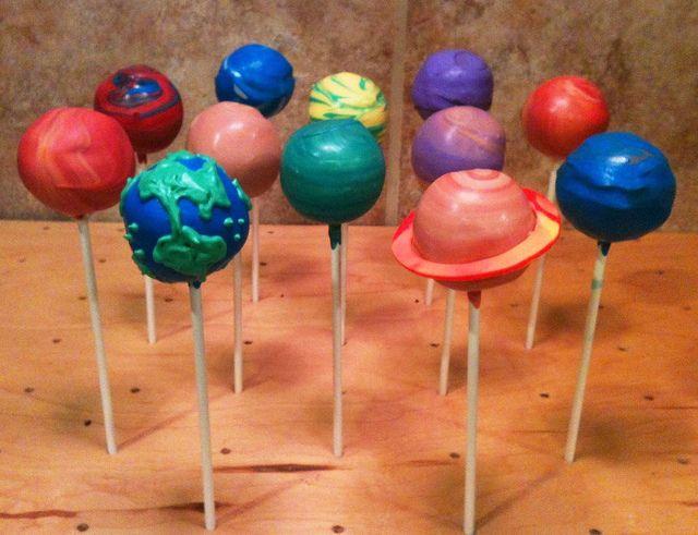 Decorating Cake Pops Uk : 17 Best images about Planet cake pops on Pinterest