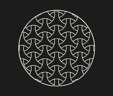 Disegni in stile moderno per stencil adesivi - Vetrate Artistiche