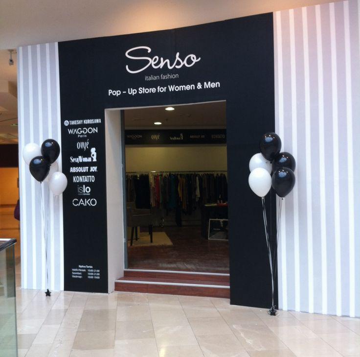 Senso Pop Up Store in ARÉNA Plaza
