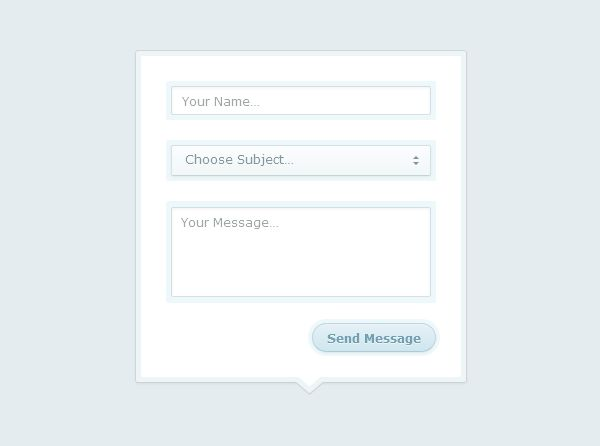 High Quality Contact Form Tutorials In Html And Css